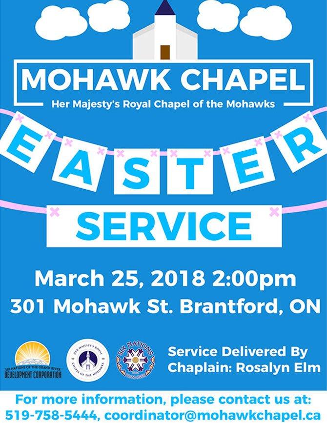 mohawk chapel easter service