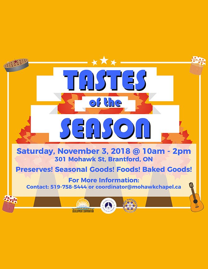 mohawk chapel taste of the season