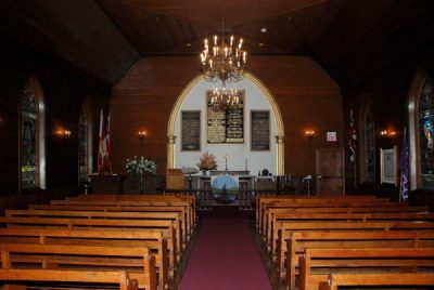 Historic Chapel Interior - Her Majesty's Royal Chapel of The Mohawks