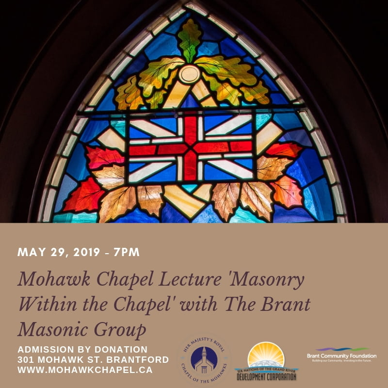 Lecture Series: Brant Masonic Group 'Masonry Within The Chapel' Lecture